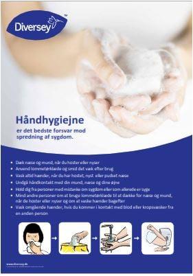 Håndhygiejne Plakat A3