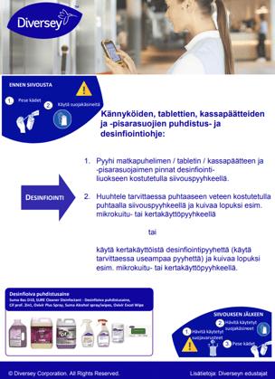 Kännykät_tabletit puhdistus ja desinfiointi