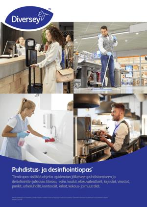 Puhdistus ja desinfiointiopas_Ohjeita epidemian jälkeiseen puhdistamiseen ja desinfiointiin