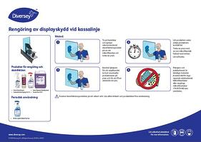 Retail_Metodkort_Rengöring av displayskydd vid kassalinje
