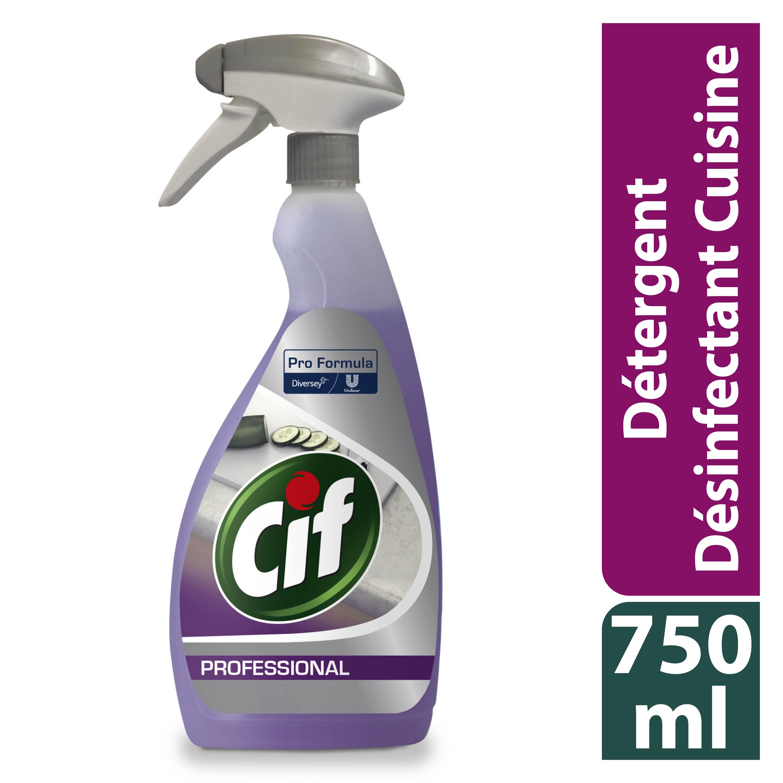 cif desinfectant detergent pret a lemploi 2en1