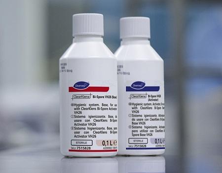 ClearKlens Bi-Spore Sporicide for Cleanroom Contamination Control