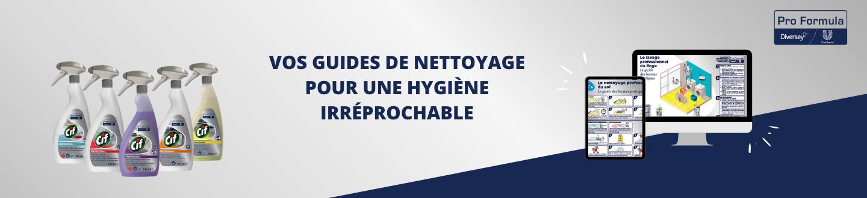 guides nettoyage pro formula pour l'hygiene professionnel